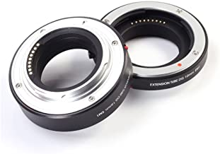 FOTGA Macro AF Auto Focus Extension Tube 10mm 16mm Set DG for Canon EOS EF-M Mount M M2 M3 M5 M6 M10 M50 M100
