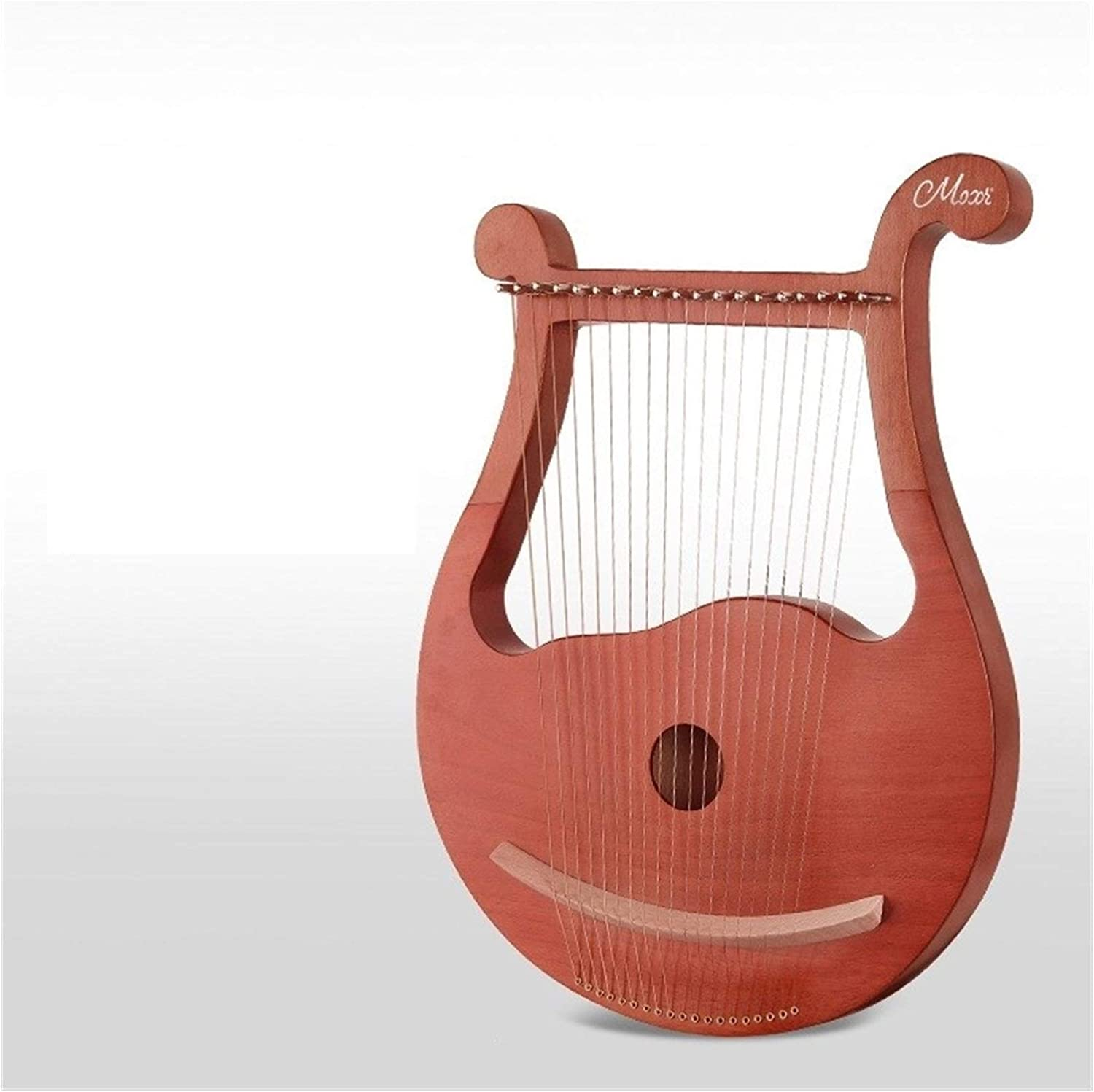 Color : 002, Size : 19 String WEIKE 19 String Harp Eliya Small Portable Piano Chord Minority Men and Women Beginners 16 21 String Instrument Lyre