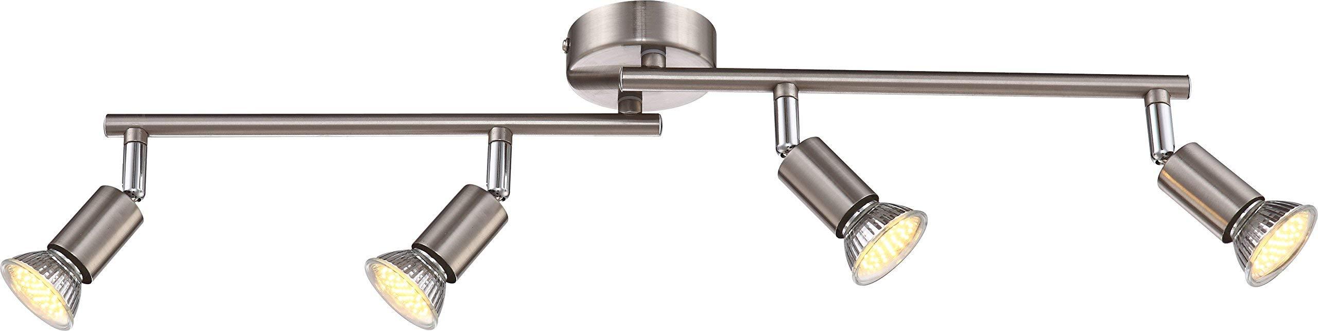 グロボGu10マトリックス4 LED集光システムシルバー57991-4