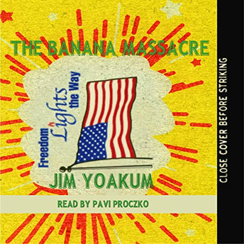 The Banana Massacre audiobook cover art