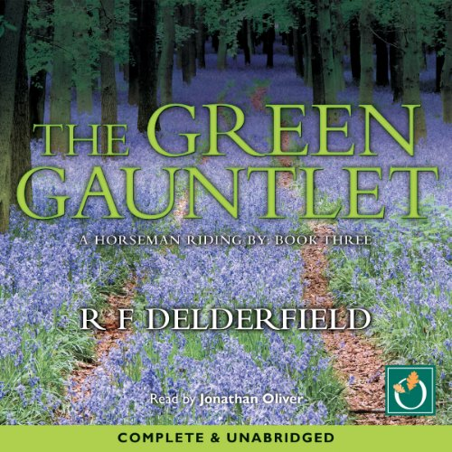 The Green Gauntlet audiobook cover art