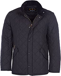 Barbour Mens Chelsea Quilted Long Sleeves Basic Jacket