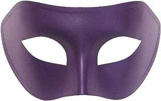 Purple Venetian Masquerade Mask - Mardi Gras Masks (STC12916)