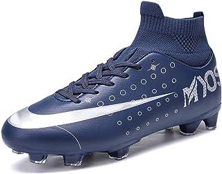 Pojkas fotbollsskor, höga fotbollsträningsskor för strumpa i ankelvård, professionella sneakers utomhus