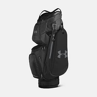 [UNDER ARMOUR] アンダーアーマー Men's UA Storm Armada Cart Bag Black [並行輸入品]