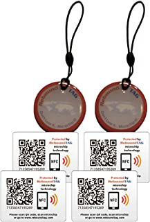 ReboundTAG Travel Pack - Connect and Protect All Of Your Valuables With KeyringTAGs and AdhesiveTAGs