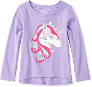 The Children's Place baby-girls Long Sleeve Graphic Fashion Top Shirt
