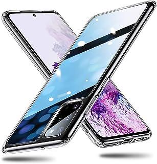 ESR Cover per Samsung S20 Plus, Custodia Protettiva in Vetro Temperato 9H [Asseconda Il Vetro Retrostante][AntiGraffio] + ...