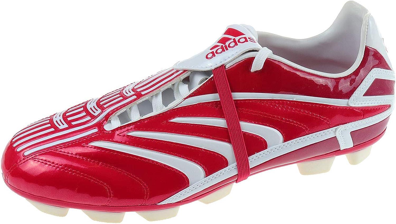 Adidas Herren Schuhe Fuballschuh für Rasen Schnürschuh Sportschuh Stollenschuh Absolado TRX HG Unirot Rot 012806