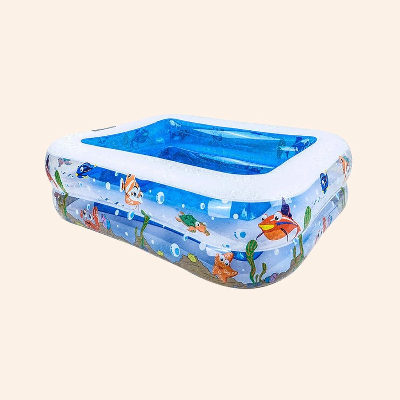 Inflatable bathtub Pool inflatable family adult home marine ball pool thickening pool LITING-WANG (Capacity   110  88  33CM)