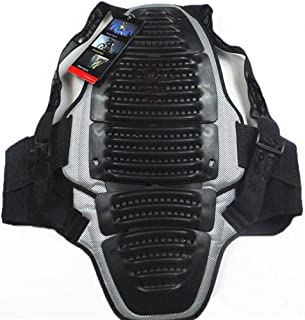 Sports Chest Back Spine Protector Vest Anti-Fall Gear Motorcycle Jacket Motocross Body Guard Vest Motorcycle Armor Vest Motorcycle Riding Chest Armor Back Protector Armor Motocross Off-Road Racing Ves