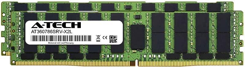 A-Tech 128GB Kit (2 x 64GB) for Intel Xeon Gold 6134M - DDR4 PC4-21300 2666Mhz ECC Load Reduced LRDIMM 4rx4 - Server Memory Ram (AT360786SRV-X2L1)
