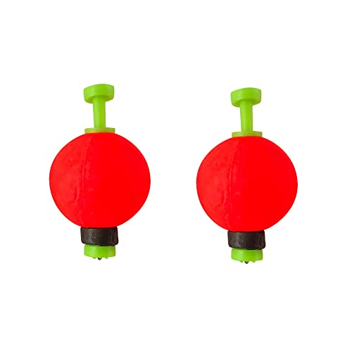 Bobber Float 3//4 Red /& White Round Weighted Styro Bobber 25 or 50 count packs