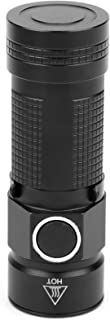 LeXiangLANGood LED cap flashlight- compact, warm white EDC pocket lamp, with clip, no glare, uniform beam- high color rend...