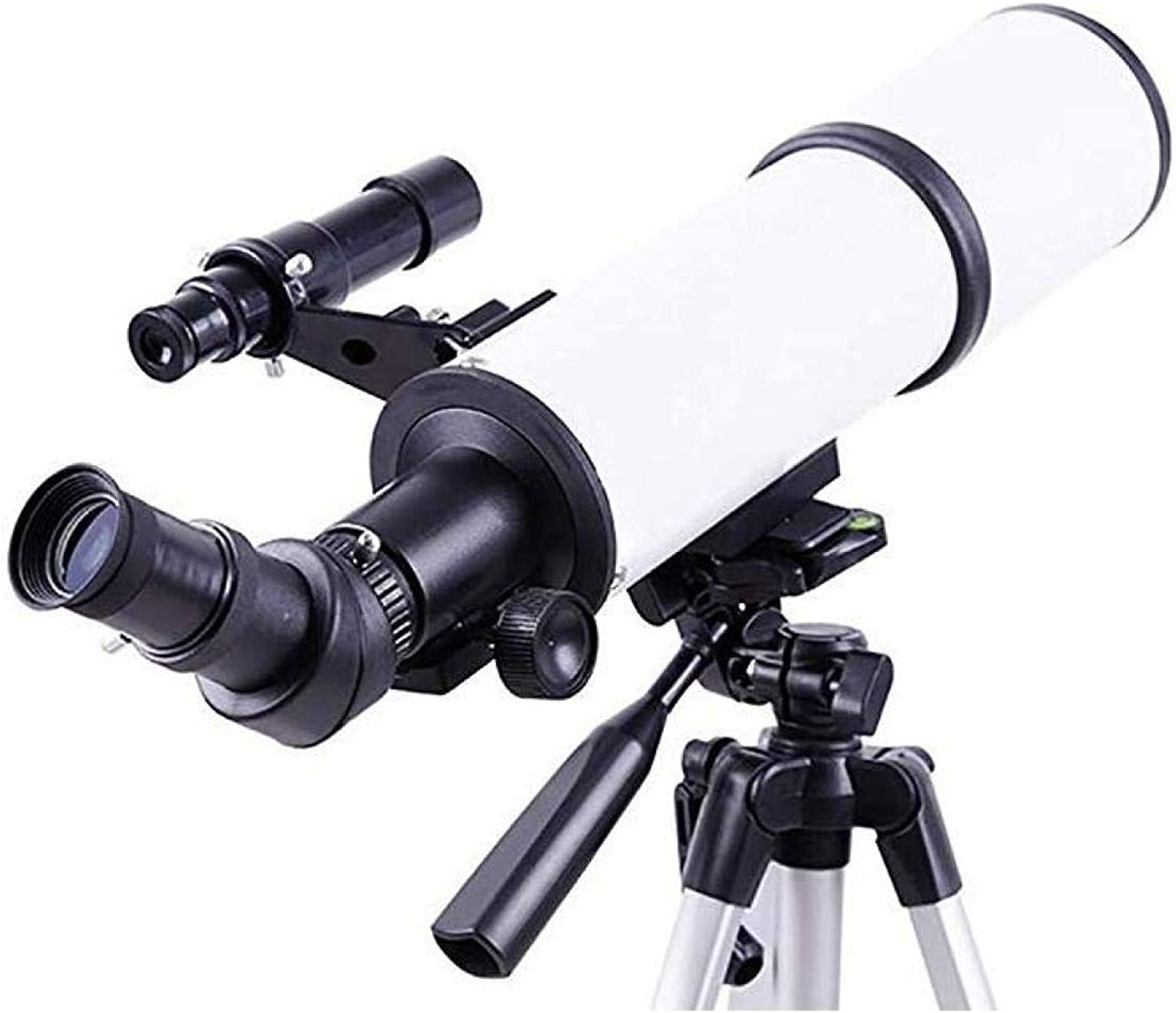 CTO Telescope (400 80Mm) Outdoor Monocular Space Astronomical Refractor Space with Tripod,A,Telescope