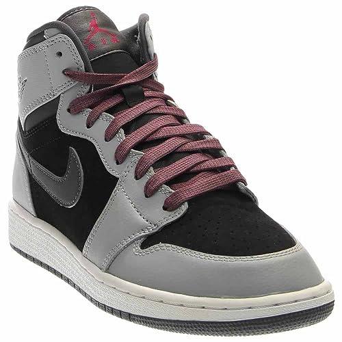 Jordan Jordan Retro 1 High Youth US 6.5 Gray Sneakers 177afd1a7