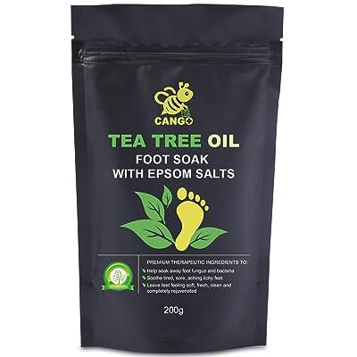 CANGO Foot Bath Salts - Remove Toxins, Foot Callus
