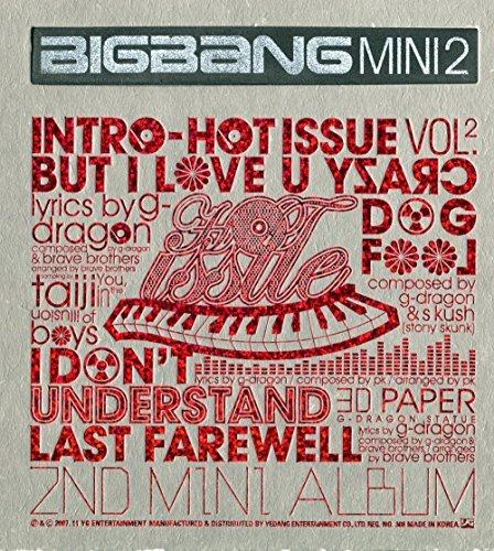 YG Entertainment Bigbang - Hot Issue [2007 Bigbang 2Nd Mini Album] Cd + Photo Booklet + Extra Gift Photocard