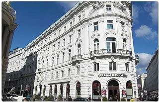 Tree26 Indoor Floor Rug/Mat (23.6 x 15.7 Inch) - Hofburg Imperial Palace Vienna Austria Corner House