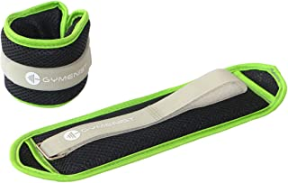 GYMENIST Water Proof Ankle Weights with Adjustable Strap Great for Swimming and All Water Sports Activities