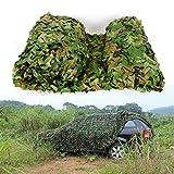 Red de camuflaje de 6 x 4 m, para caza, camuflaje militar, camuflaje del ejército del bosque, para el coche, tienda de campaña, sombra, camping
