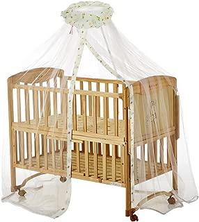 DEALYU Dome-Stil h/ängen Baby Moskitonetz Kleinkind Betthimmel mit Dream Champion Zelt Bettnetz Kinderbett Bettw/äsche Set wei/ß//gelb//lila//pink