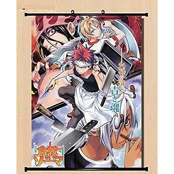 Shokugeki no Soma Nakiri Erina HD Canvas Print Wall Poster Scroll Room Decor