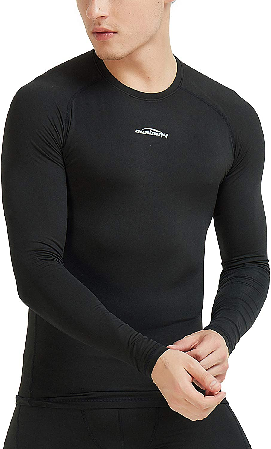 Legendfit Men's Thermal Shirts Fleece Lined Compression Baselayers Long Sleeve Tops Undershirts Winter Gear