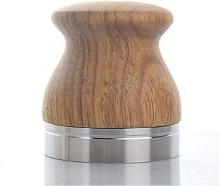 CCHAO Poignée en Acier Inoxydable Poignée à café Espresso Tamper 58mm Hammer Fit pour Les Machines à café (Color : Silver)