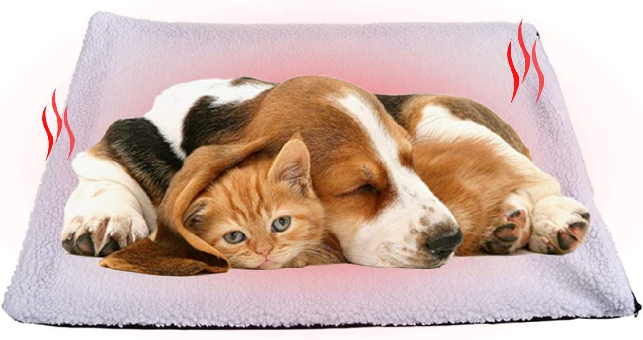 Cuscinetti riscaldanti per animali gatti Coperta termica per animali domestici,Coperta autoriscaldante per gatti e cani,Coperta,autoriscaldante per animali domestici,Pet Tappetino riscaldante A
