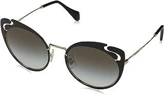 Miu Miu Women's See Through Cat Eye Sunglasses