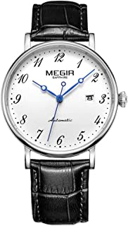 North King - North King Reloj de Relojes agradables Cuarzo Relojes Fecha Pantalla automático mecánico cronógrafo Simple Moda de los Hombres para Adultos cumpleaños G IFT