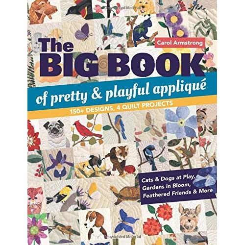 The Big Book Of Pretty Playful Applique 150 Designs 4