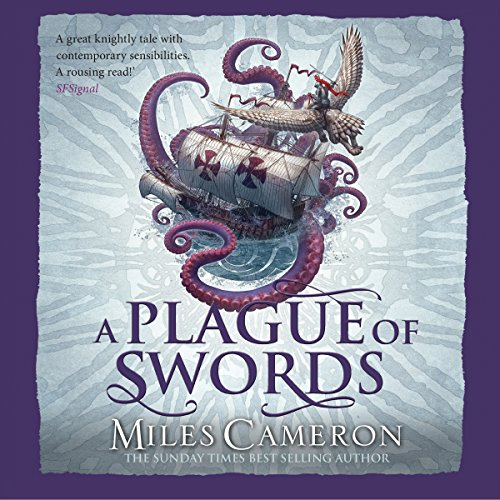 A Plague of Swords audiobook cover art