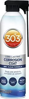 303 Marine Long Lasting Corrosion Coat - Dry, Clear Formula - Stops And Prevents Corrosion On Contact - Electronic Safe - ...