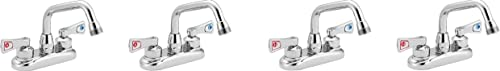 Moen 8277 Commercial M-DURA 4-Inch Centerset Utility Faucet, Chrome (Pack of 4)