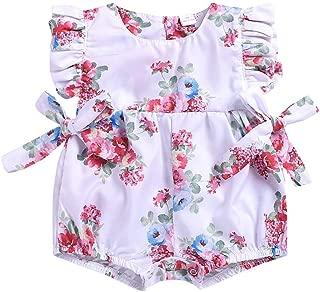 VEZAD Teen Toddler Kid Girl Sleeveless 3D Cartoon Print Cartoon Dresses Casual Summer