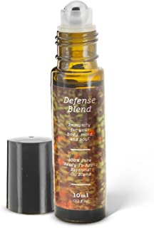 Support Your Immune System with Defense Essential Oil Roll-On Blend | 10ml Ready-To-Apply Roll-On | 100% Pure & Therapeutic | Immunity Blend | Cold and Flu Season
