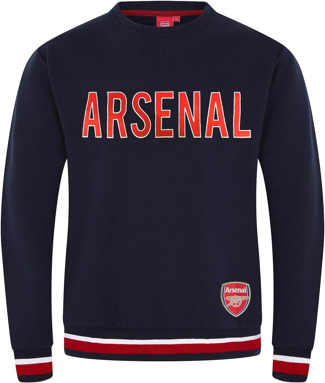 Arsenal ショップ Football Club Official Soccer Crest Mens Sweatshirt 5%OFF Gift