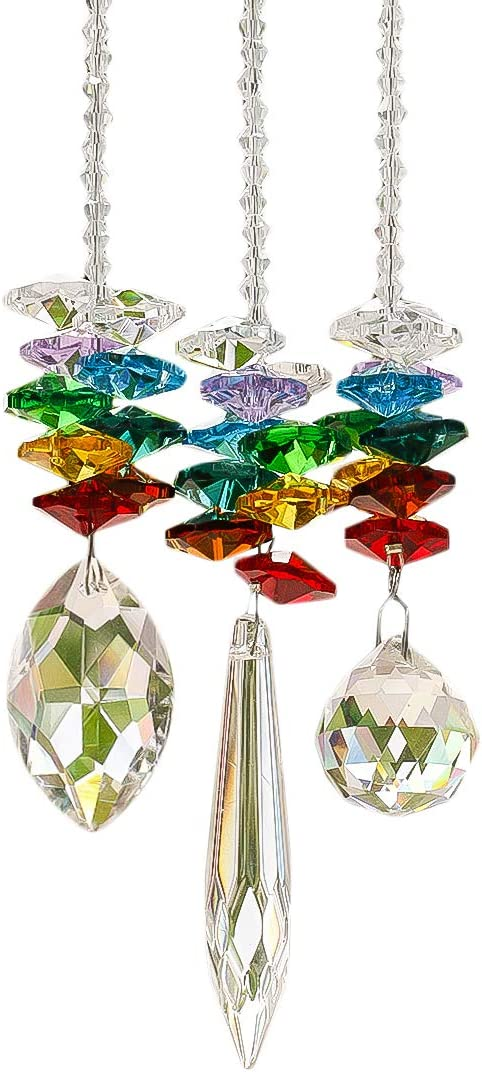 HD HYALINE DORA Chandelier Max 89% OFF Crystals Ch Max 43% OFF Rainbow Prisms Octagon