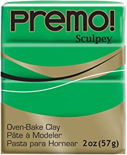 Premo Sculpey Polymer Clay 2 Ounces-Green
