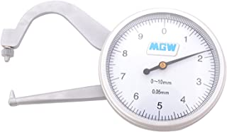 MGW Precision PT10 P Type Thickness Gauge 10mm, Silver