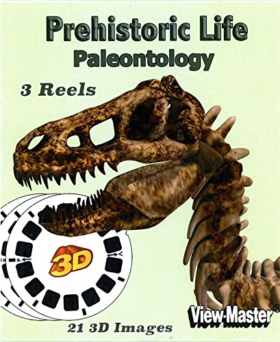 Prehistoric Life - Paleontology - Classic ViewMaster - 21 3D Images - New