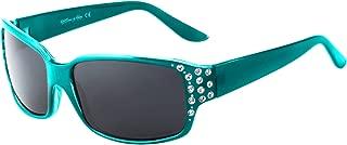 Polarized Sunglasses for Women - Premium Fashion Sunglasses - HZ Series Diamante Womens Designer Sunglasses