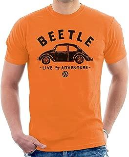 Beetle Black Live The Adventure Men's T-Shirt