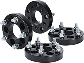 5X100 to 5x114.3 Wheel Adapters for Toyota Dodge, KSP Chang Bolt Pattern 25mm Thread Pitch 12x1.5mm Hub Bore 64.1mm Wheel Spacers for Chevy Cavalier Lexus CT200H Scion Toyota Camry Celica Corolla Mat