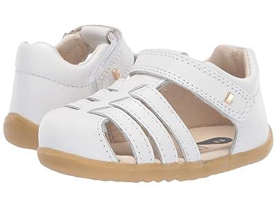 Bobux Kids Step Up Jump Sandal (Infant/Toddler) (White 1) Girl