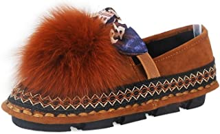 BalaMasa Womens Fringed Travel Hiking Urethane Pumps Shoes APL10392