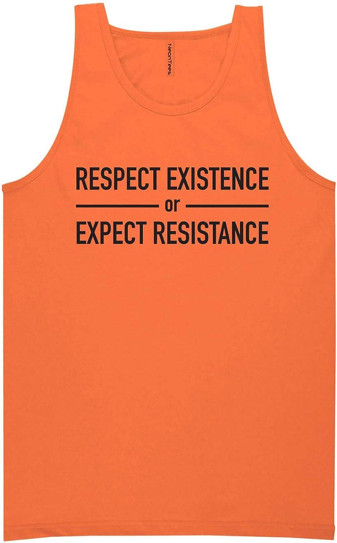 zerogravitee Respect Existence Neon Tank Top