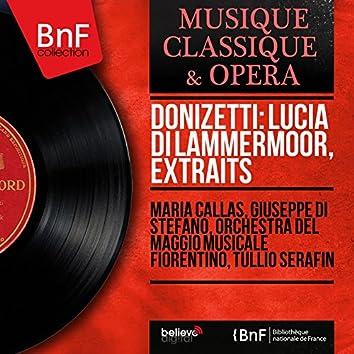 Donizetti: Lucia di Lammermoor, extraits (Mono Version)